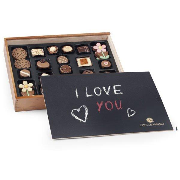 - Schokoladenschachtel mit Tafel Liebe - Onlineshop Geschenke24