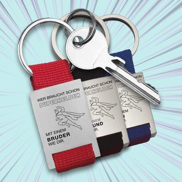 Schlüsselanhänger - Wer braucht schon Superhelden