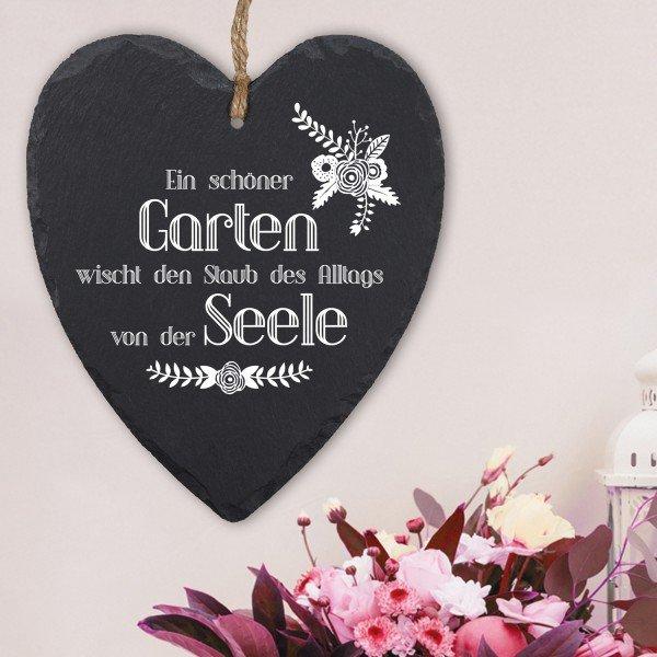 Schieferherz - Ein schöner Garten