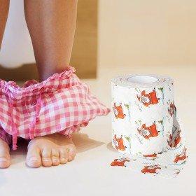 Toilettenpapier - Weihnachtsparty