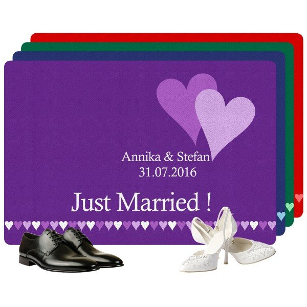 Fußmatte Hochzeit