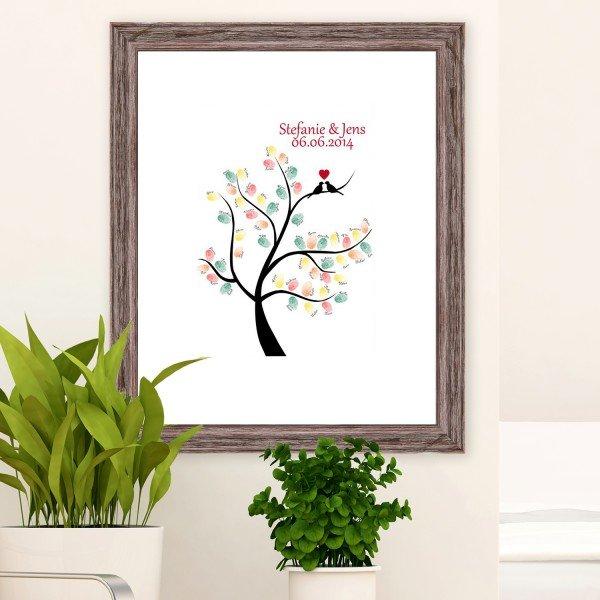 - Wandbild Wedding Tree - Onlineshop Geschenke24