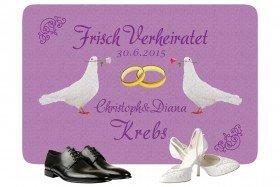 Fußmatte - Tauben