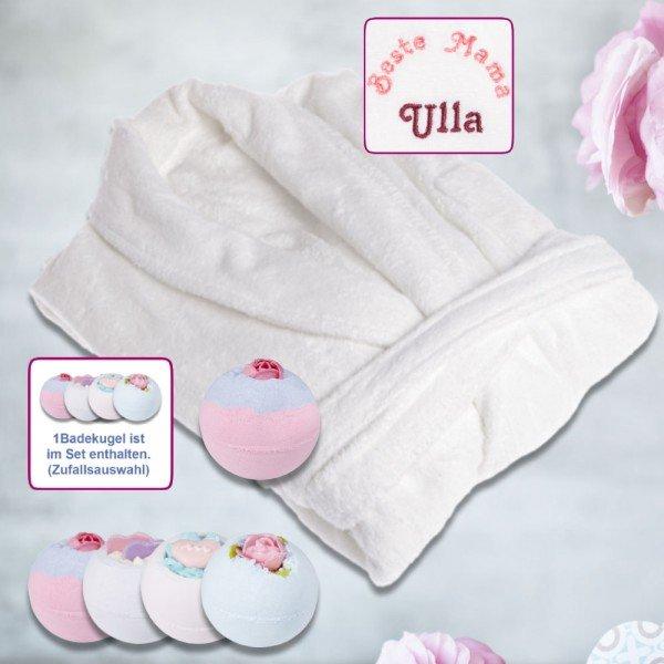 - Geschenkset Bademantel Beste Mama mit Badebrulee - Onlineshop Geschenke24