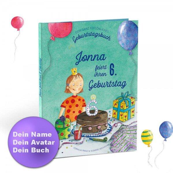 Personalisiertes Kinderbuch - Mein Geburtstag