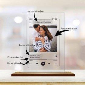 """Smartphone - """"Unendlich Liebe"""" - Bild auf Acryl"""