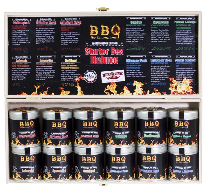 bbq 4 champions grillgew rz box deluxe. Black Bedroom Furniture Sets. Home Design Ideas