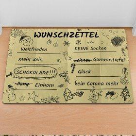Fußmatte - Wunschzettel