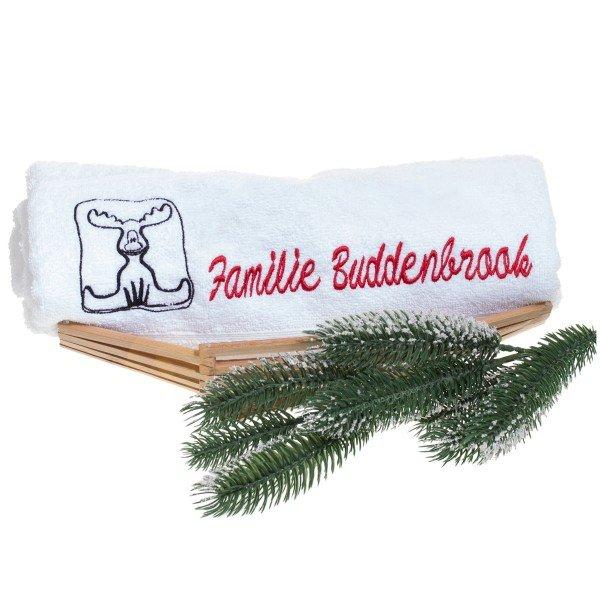 Handtuch - Weihnachtselch