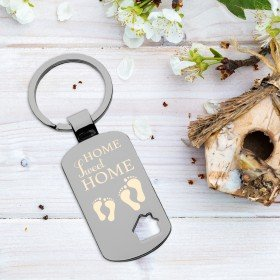 Schlüsselanhänger - Haus - Home sweet home