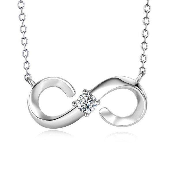 Halskette Unendlichkeit 925er Silber